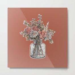 Flower Bouqet Metal Print