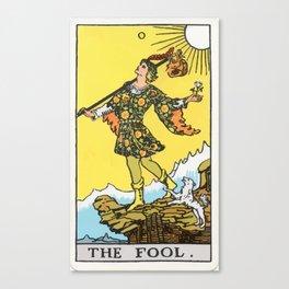 00 - The Fool Canvas Print
