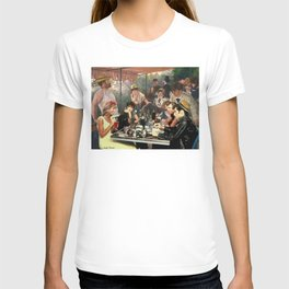 Renoir's Luncheon of the Boating Party & Grease T-shirt