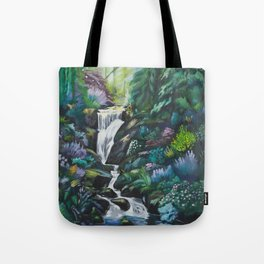 Waterfall by MRT Tote Bag