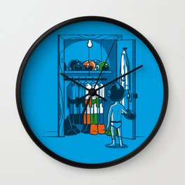 The Morning Routine Wall Clock