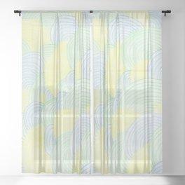 Ripple Effect Sheer Curtain