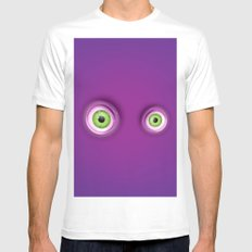 I See You MEDIUM Mens Fitted Tee White