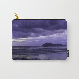 Mission Beach Sunrise in Purple Carry-All Pouch