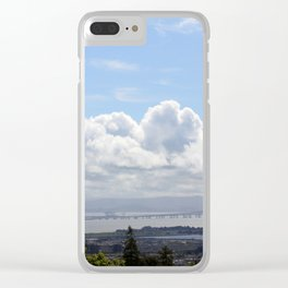 Looking Across the Bay Clear iPhone Case