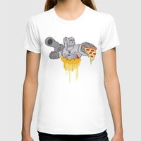 pizza T-shirts featuring Pizza by Jake Beeson