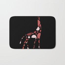 High Class Polka Dots Giraffe Bath Mat