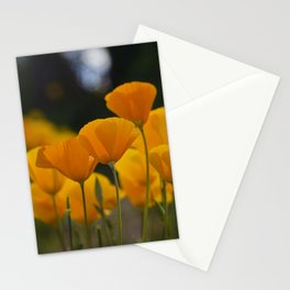 Gently Swaying in the Wind Stationery Cards
