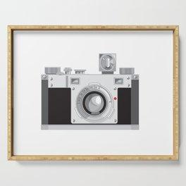 Vintage 35mm Film Camera Retro Style Serving Tray