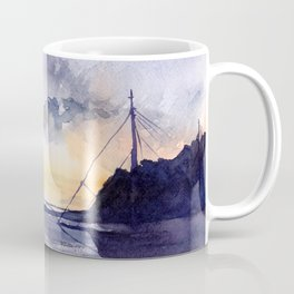 Sunset in Stockholm Coffee Mug