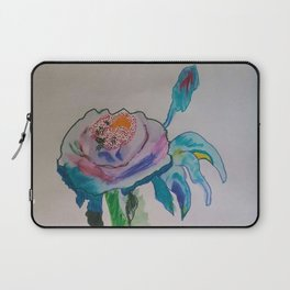 Flower inspiration modern paintings by Christian T. Laptop Sleeve