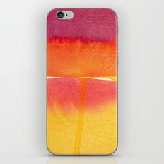 Color Field No. 5 iPhone & iPod Skin