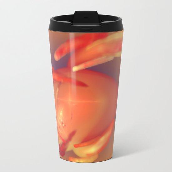 magic cherry Metal Travel Mug