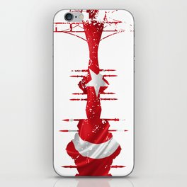 City silhouette Istanbul iPhone Skin