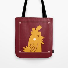 2017 Lunar New Year - Cluck You Tote Bag