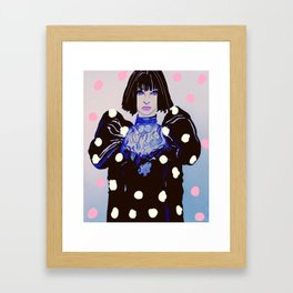 Paris Haute Couture Framed Art Print