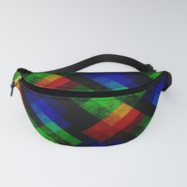 Abstract grunge pattern Fanny Pack