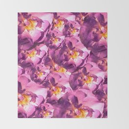 Florished beauty Throw Blanket