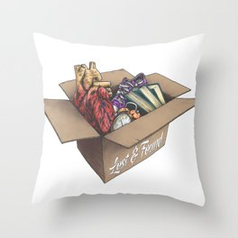 Love lost & Love found Throw Pillow