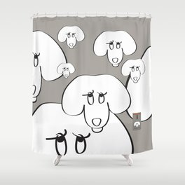 Animal Testing - Really people? Shower Curtain