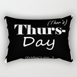 Thursday Rectangular Pillow