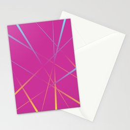 Laser Light Show - Pink Stationery Cards