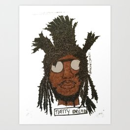 Natty Dread Art Print