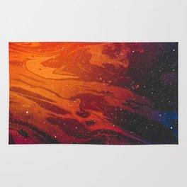 Space Marble Liquid v11 Rug