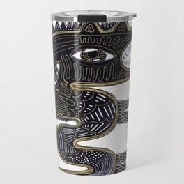 decorative surreal dragon Travel Mug
