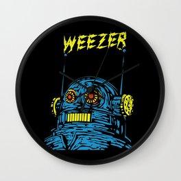 Weezer Monster Art Wall Clock