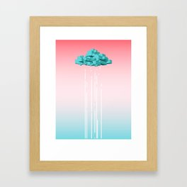 Concrete Cloud Framed Art Print