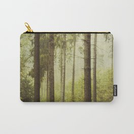 Fir Forest in Fog Carry-All Pouch