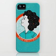 Ride Sally Ride iPhone (5, 5s) Slim Case