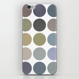 circles of color iPhone Skin