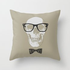 nerd4ever Throw Pillow