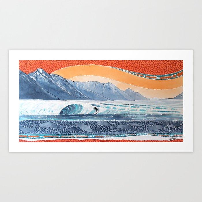 Boretide Art Print