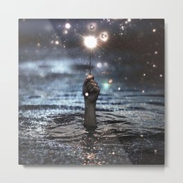magic wand Metal Print