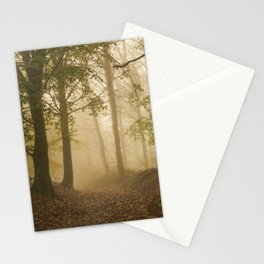 Alone in the Mist Stationery Cards