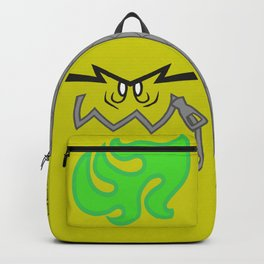 My Backpack Ate My Homework (yellow) Backpack