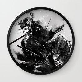Taiko - Dance of the swords Wall Clock