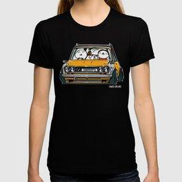 Crazy Car Art 0134 T-shirt