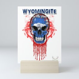 To The Core Collection: Wyoming Mini Art Print