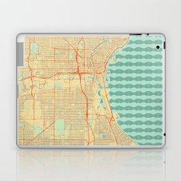 Milwaukee Map Retro Laptop & iPad Skin