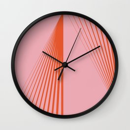 LINES001 Wall Clock