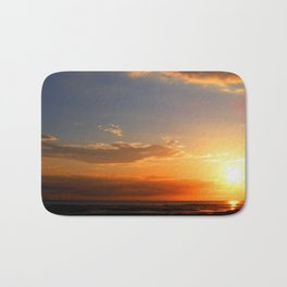 Sunset in the Bay Bath Mat