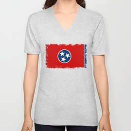 State flag of Tennessee Unisex V-Neck