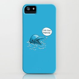 Find Your Porpoise iPhone Case