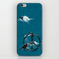sewing iPhone & iPod Skins featuring sewing birds by frederic levy-hadida