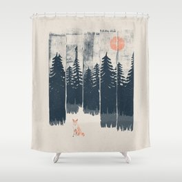 A Fox in the Wild... Shower Curtain