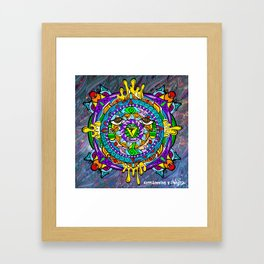 Bueno! Solar Plexus Wonkiness! Framed Art Print